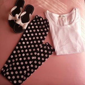 Pants - Polka dot tights