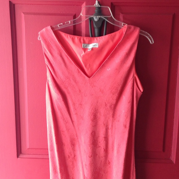 78 Off Dress Barn Dresses Amp Skirts Coral Dress With