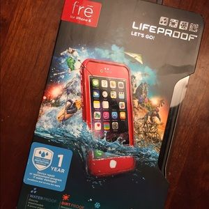 outlet store d64ae 82444 New Lifeproof Fre Red Case for iPhone 6 NWT