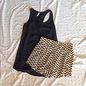 Pants - Sold in Bundle. Chevron Shorts