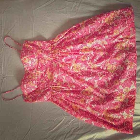 a009d2ef19aeea Lilly Pulitzer Dresses & Skirts - Lilly Pulitzer Georgie dress Chum Bucket  print