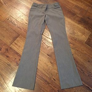 Brown exact stretch flare pants 4L