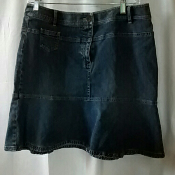 Ann Taylor Skirts Loft Denim Skirt Poshmark