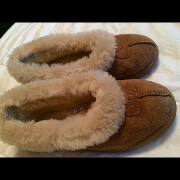b0c45c3df9a Ugg Australia Rylan size 7 slippers in chestnut