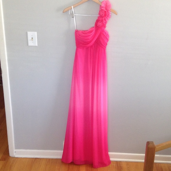 Macys Dresses Beautiful Pink Prom Dress From Macys Poshmark