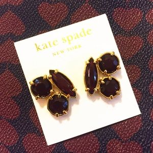 kate spade Jewelry - NWT kate spade cluster studs marsala