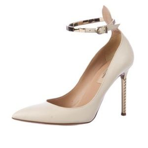 Valentino stud stilettos / pumps