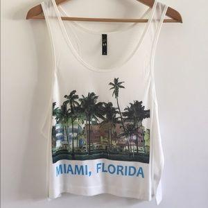 Tops - Miami crop top