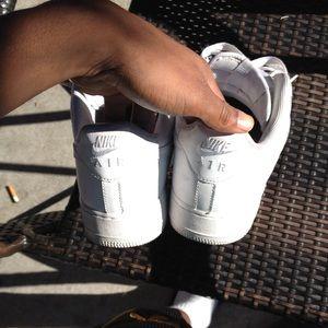 Nike Shoes - Coke white Air force 1s