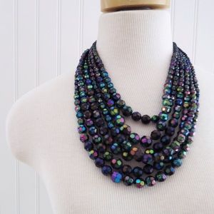 H&M Jewelry - Iridescent Layered Necklace