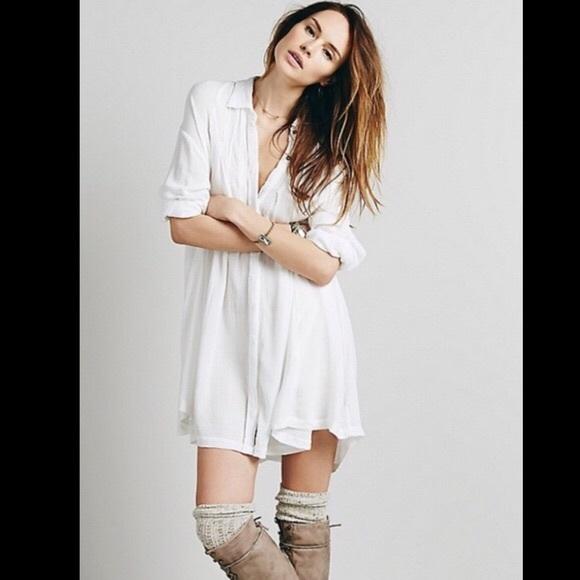 e096d038 Free People button down tunic dress. M_5508cbf6729a6634c70009e5