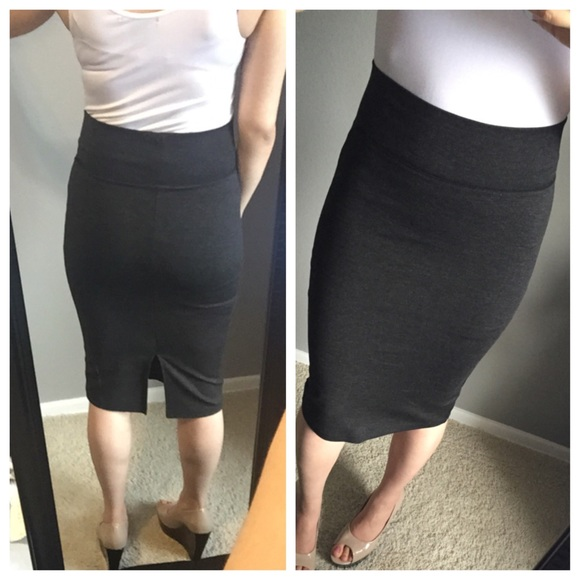 Dark gray pencil skirt S from Mar's closet on Poshmark