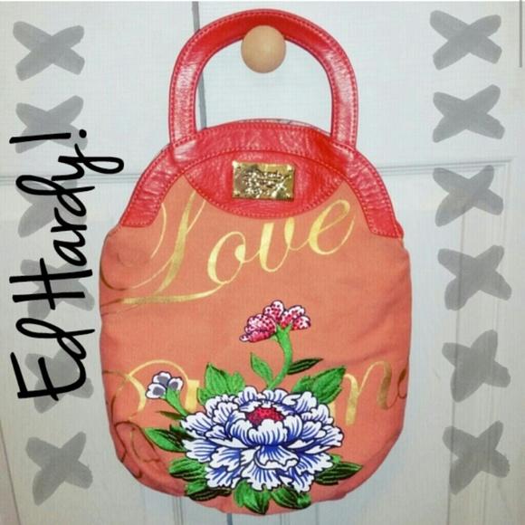 Ed Hardy Handbags - Authentic Ed Hardy Cross-Body Purse! 1f047918907e3