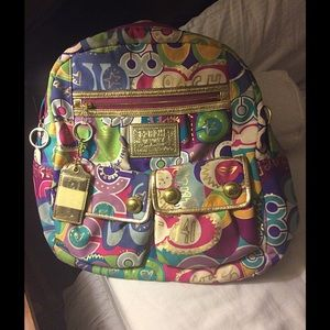 Coach Poppy Limited edition backpack