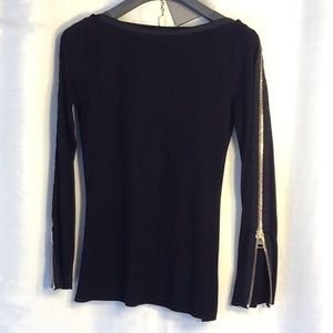Authentic Tom Ford zippered sleeve shirt