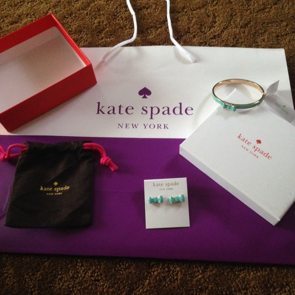 kate spade Jewelry - Kate Spade Tiffany blue gift set❌today only❌