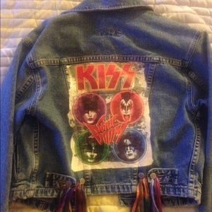 One of a kind jean jacket