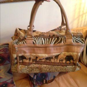 07fc99bf8b94ea Bags - Travel bag TAPESTRY animal SAFARI
