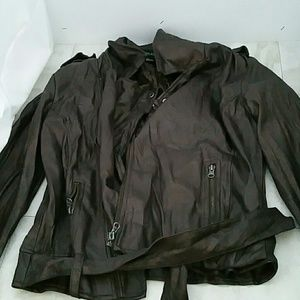 Forever 21 motorcycle faux leather jacket.