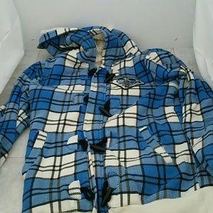 Roxy Jackets & Coats - Roxy plaid jacket