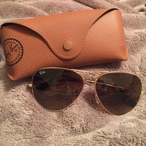 Ray-Ban Sunglasses w/ Case