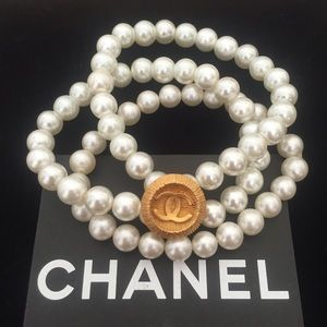 AUTHENTIC CUSTOM MADE CHANEL BUTTON BRACELET