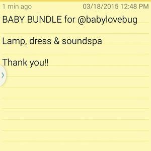 Accessories - Baby Bundle