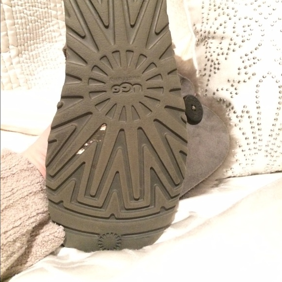 67 off ugg shoes grey tall uggs with buttons from