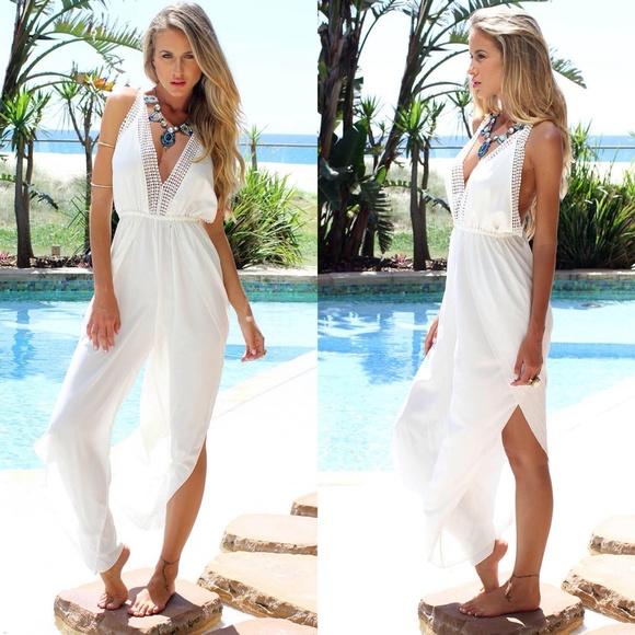 39ca89d55 ... White Boho Beach Split Dress Coverup. M_5509d39cc7dcbf3033004168