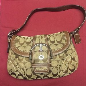 Coach Authentic Beige handbag