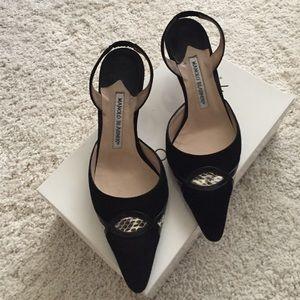 Manolo Blahnik kitten heels