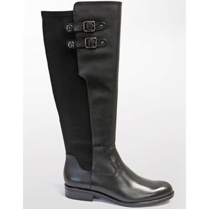 Tahari Black Leather Boot