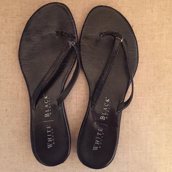 80 off white house black market shoes black dressy flip. Black Bedroom Furniture Sets. Home Design Ideas
