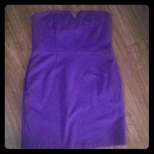 Purple is the new Black dress