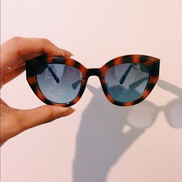 Cole Haan tortoise cateye sunglasses