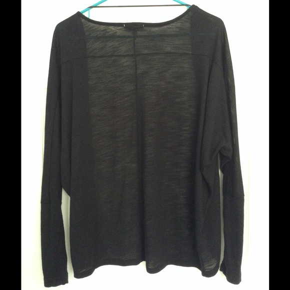 67% off Cotton On Sweaters - Cotton On Basic Black Cardigan from ...