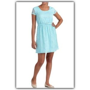 No Boundaries Dresses & Skirts - New JUNIOR lace dress in mint color XXL