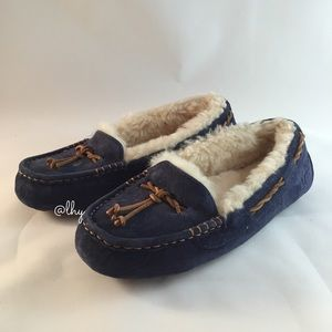 UGG BRETT MOCCASIN SLIPPERS