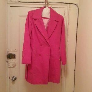 TCM Jackets & Blazers - Pink trench coat