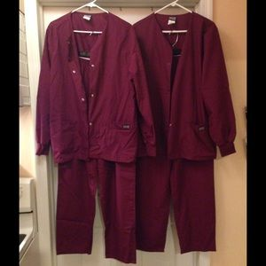Scrub Jackets and Pants