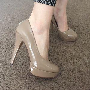 Nude heels!!