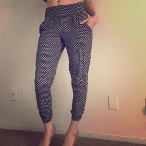 Forever 21 print pants