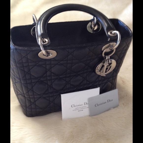 08fb915bd8c1 Dior Handbags - DIOR Lady Dior handbag AUTHENTIC. Price is FIRM