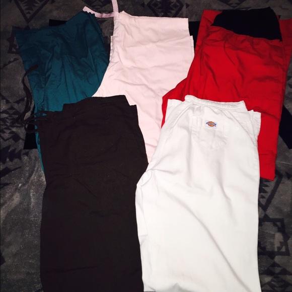 0a8b3012067 Dickies Pants | 5 Scrub Bundle Size Ml | Poshmark