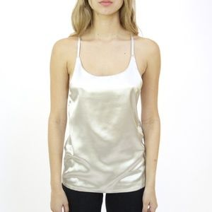 SOLD OUT! Silky cami in Silver, BRAND NEW