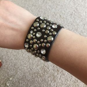 Accessories - brown studded bracelet