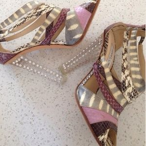 Jimmy Choo Shoes - 🆕LISTING! JIMMY CHOO Snake and Swarovski Crystal
