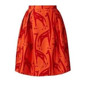 Anthropologie Dresses & Skirts - NEW Anthropologie Orla Keily Giraffe Print Skirt