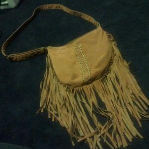 Handbags - Vintage fringe bag