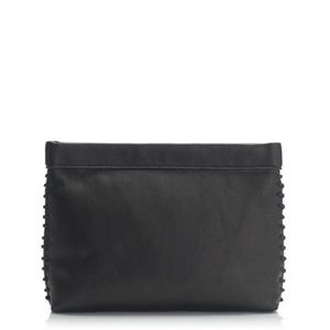 J Crew Leather Clutch